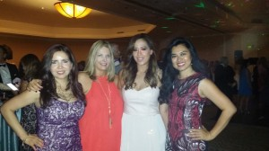Gisela Sanchez, Lisa Reed, Teresa Vo and Marie Antonette Waite
