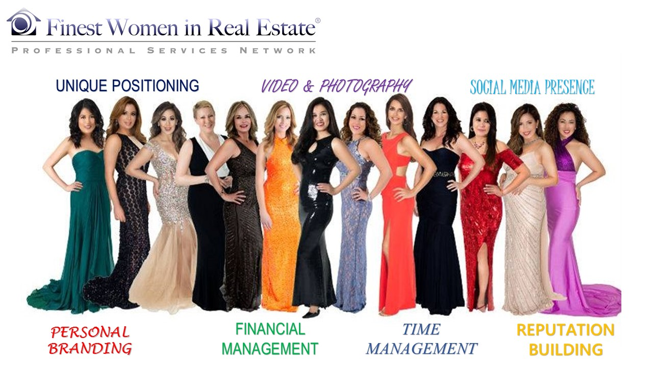 f i r e up live seminar training event finest women in real estate event topics for discussions and presentation