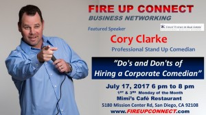 FIRE UP CONNECT-Cory Clarke