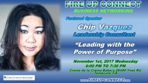 FIRE UP CONNECT-Speakers Chip Vazquez