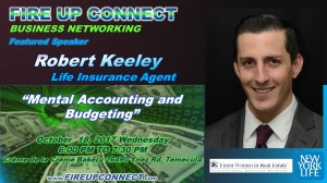 FIRE UP CONNECT-Speakers Robert Keeley
