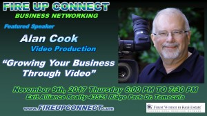 FIRE UP CONNECT-Speakers Alan Cook