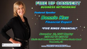 FIRE UP CONNECT-Speakers Bonnie Kau