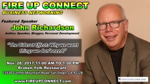 FIRE UP CONNECT-Speakers John Richardson
