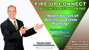 FIRE UP CONNECT-Speakers Mark Rauch